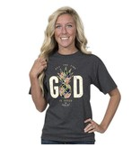 Simply Southern Collection Country Chick God Is Good T-Shirt