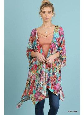 UMGEE Open Front Kimono