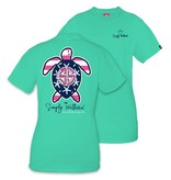 Simply Southern Collection Simply Southern Save the Turtles 'Flag'  T-Shirt