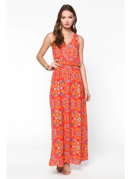 Everly Everly Floral Printed Dress