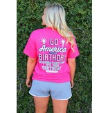 Jadelynn Brooke Go America It's Your Birthday  - Short Sleeve