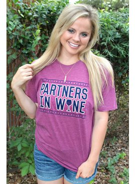 ATX Mafia, LLC Partners in Wine - Wine - Short Sleeve