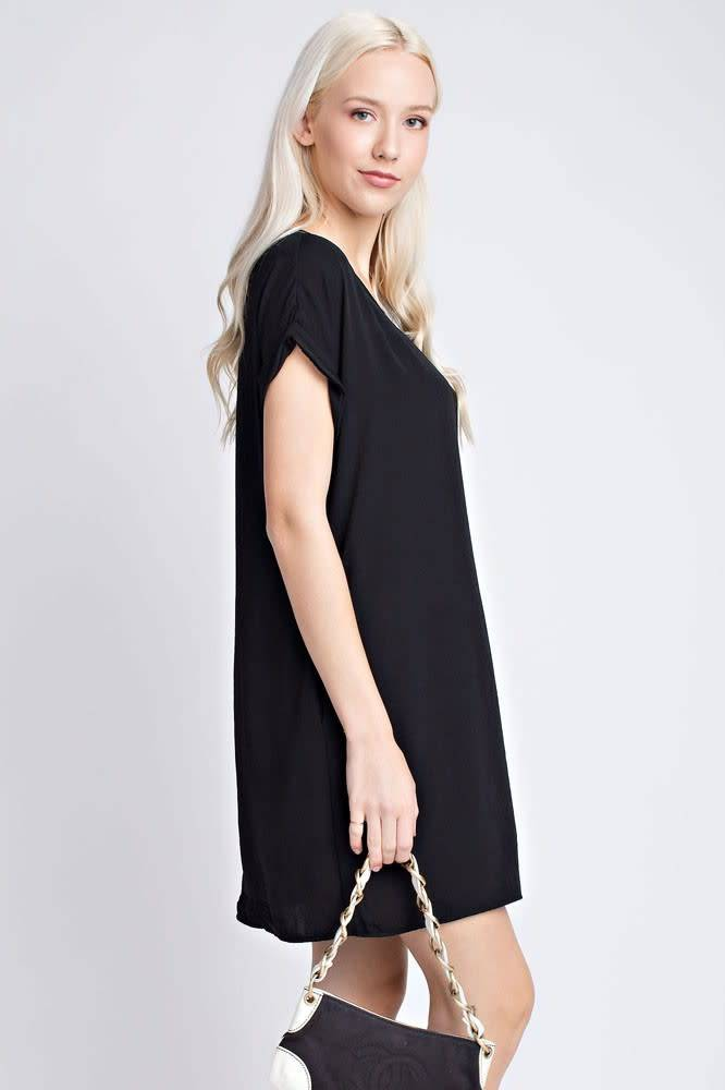 Dress with side pocket