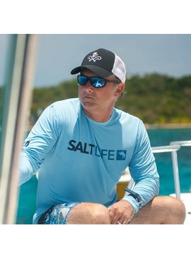 Salt Life Modern Marlin Performance Long Sleeve Tee