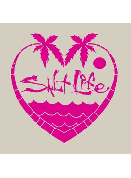 Salt Life Palmtree Love Decal