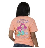 Simply Southern Collection Youth Simply Southern Preppy Ocean T-Shirt