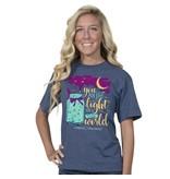 Simply Faithful SIMPLY FAITHFUL® You Are The Light Short Sleeve T-Shirt