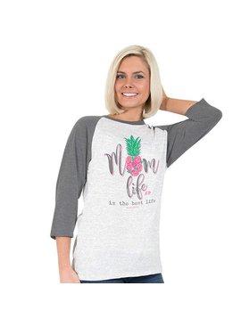 Simply Faithful SIMPLY FAITHFUL® Mom Life 3/4 Sleeve T-Shirt