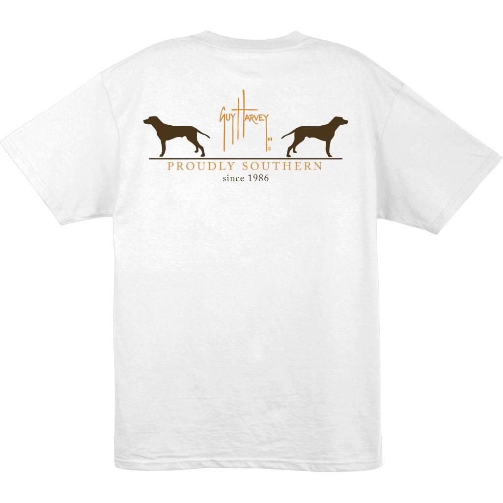 Guy Harvey Guy Harvey Fetch Mens Short Sleeve T-Shirt