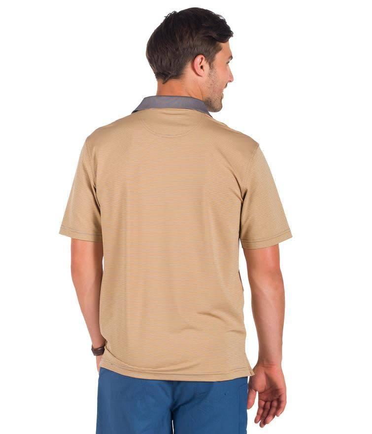 Southern Shirt Belmont Stripe Polo