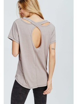 Wishlist Wishlist CrissCross Back Tee