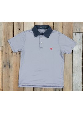 Southern Marsh Youth Bermuda Performance Polo - Hawthorne