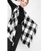 FAVLUX Fashion BUFFALO PLAID FRINGE VEST