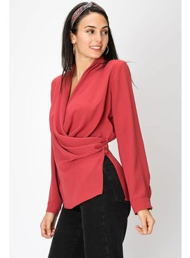 FAVLUX Fashion SURPLICE BLOUSE
