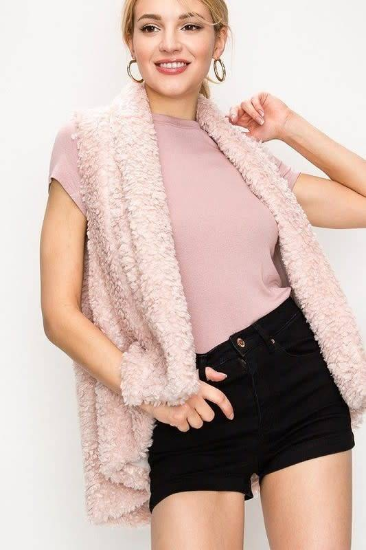FAVLUX Fashion Faux fur vest