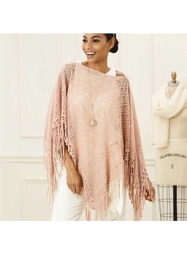 2 Chic Open Weave Shawl