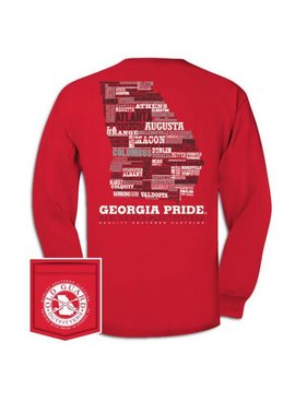 Old Guard Outfitters Georgia Letterpress Long Sleeve