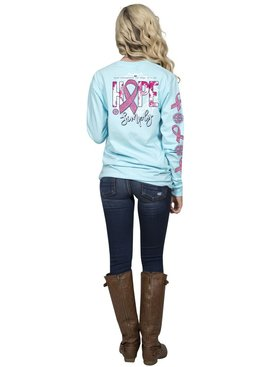 Simply Southern Collection Hope Long Sleeve T-Shirt - MARINE