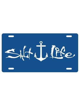 Salt Life Salt Life Signature Anchor License Plate