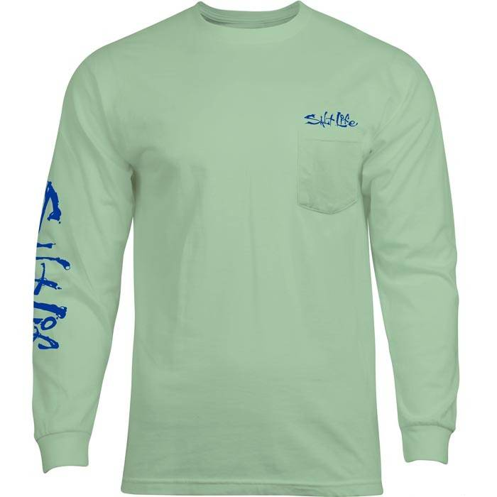 Salt Life Get Bent Long Sleeve Pocket Tee