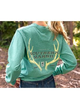 Southern Marsh Origins Rack Tee - Long Sleeve