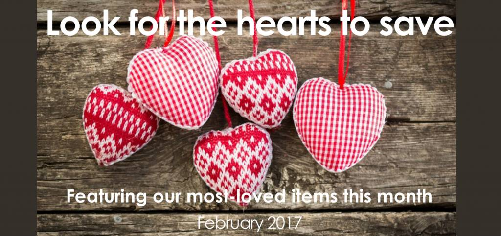 February is Feel the Love month!