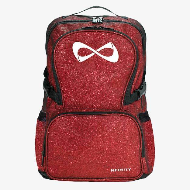 Nfinity Cheer Red Sparkle Backpack