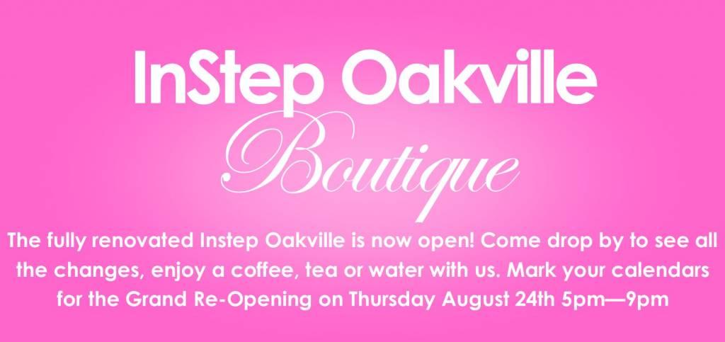 Instep Oakville Boutique Renovation Summer 2017