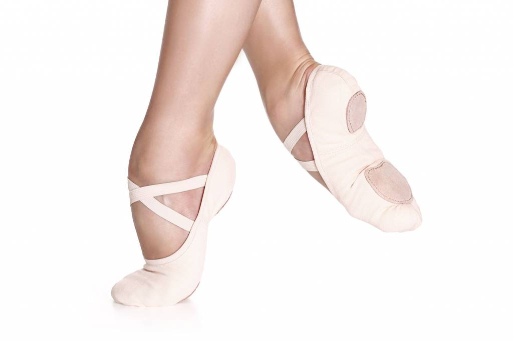 So Danca SD16S Stretch Canvas Ballet Slipper for Children