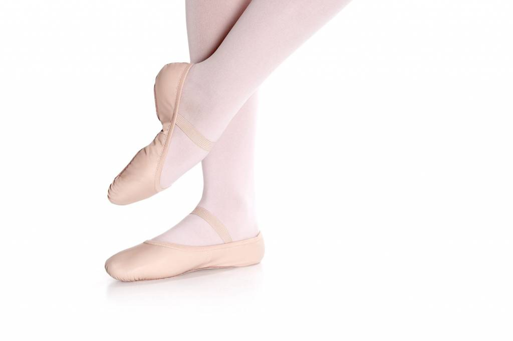 So Danca SD55S Leather Ballet shoe for Children