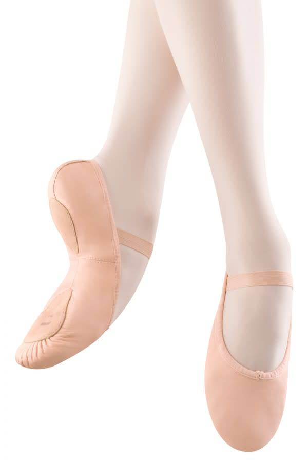 Bloch SO258G Leather split sole ballet shoe for children