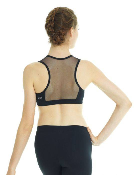 Mondor 3603 Athletica Racer-back Crop Top