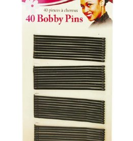 Magic Bobby Pins Black Long