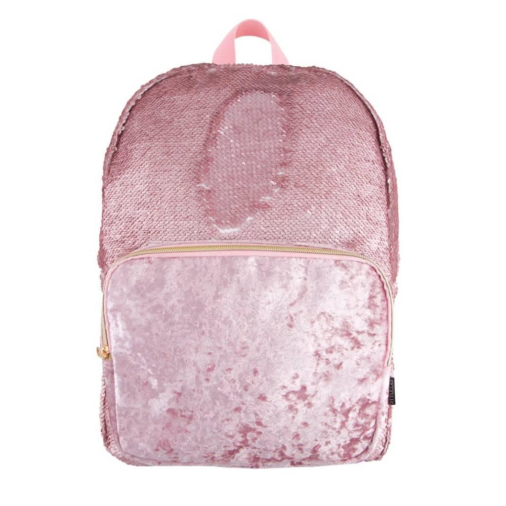 Fashion Angels Crushed Velvet Backpack