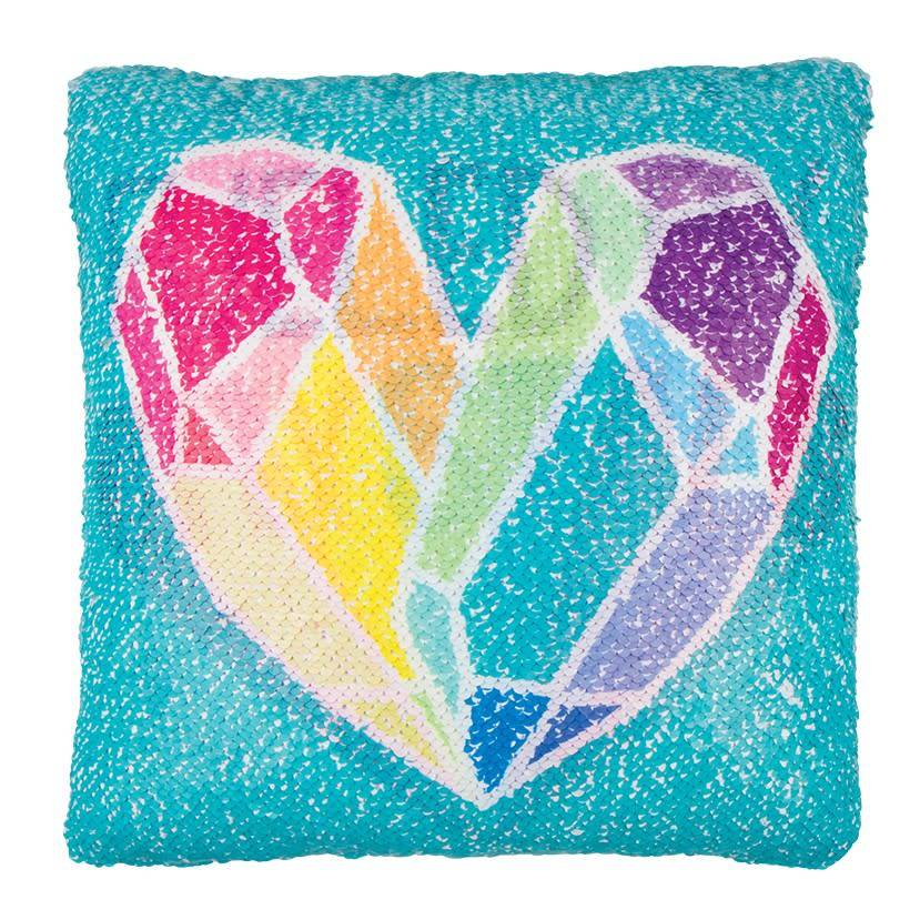 Fashion Angels Crystal Magic Sequin Pillow