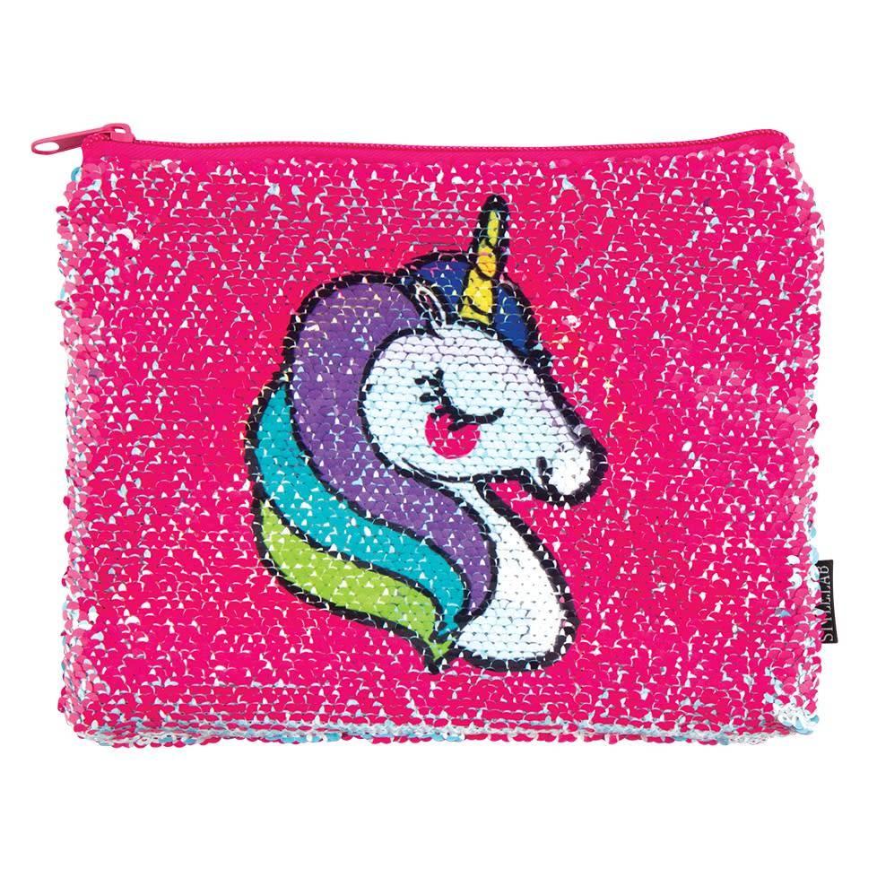 Fashion Angels Unicorn Magic Sequin Zip Pouch