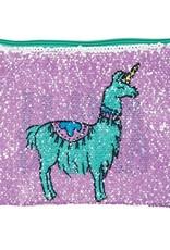 Fashion Angels Llama Drama Magic Sequin Zip Pouch