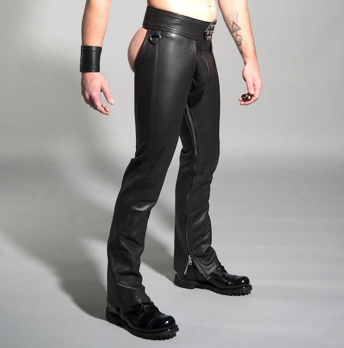 Leather Man Chaps 7 Snap D Rings The Leather Man
