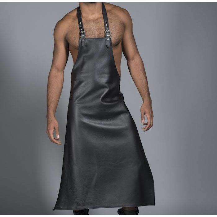 Apron, Leather