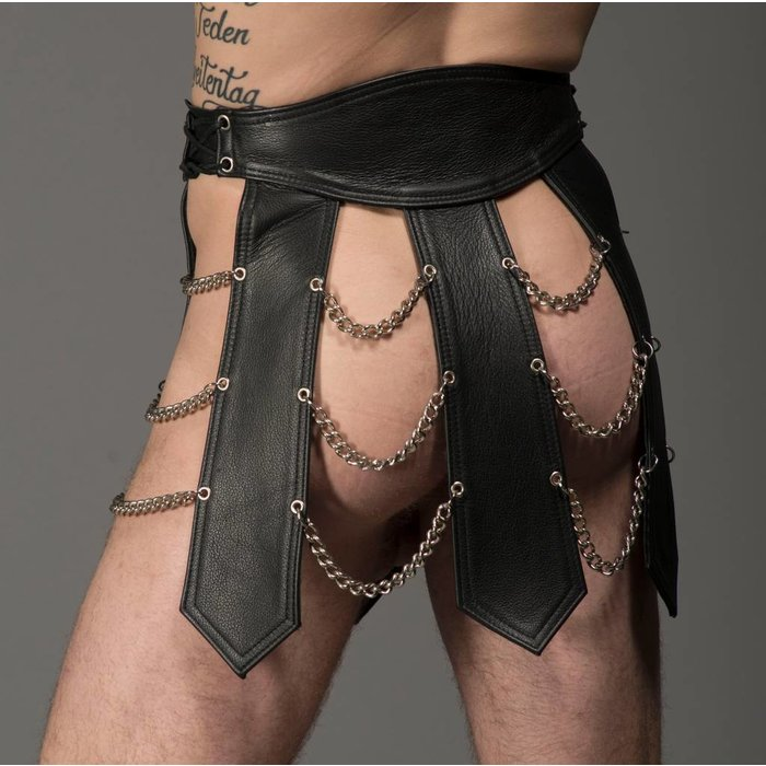 Gladiator Skirt with Chain