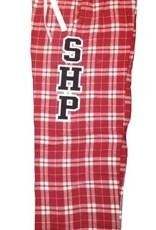 SHP Plaid PJ Pants Red/White