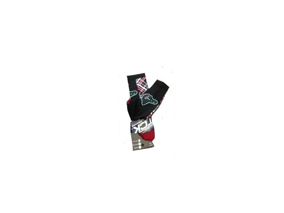2017 Socks - Gator Argyle Black