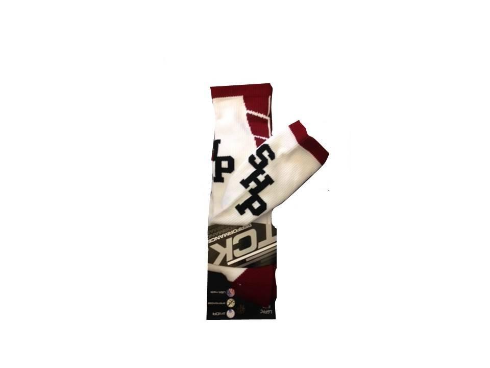 2017 Socks - SHP - White