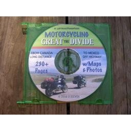 Great Divide Ride- book on CD
