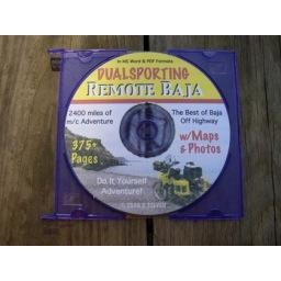 Remote Baja Ride- book on CD