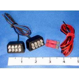 Hyper-Lite 8 Red Non-flashing LED Aux. Brake Lights