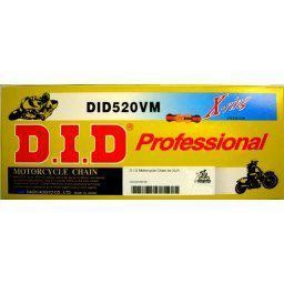 D.I.D Gold X-RIng Chain for KLR