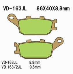 Vesrah Sintered Metal Rear pads, V-Strom 650/1000