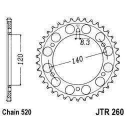 JT Rear Sprocket for XL/XR250