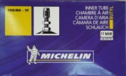 Michelin re-inforced inner tube for off road and motard - 140/80-17